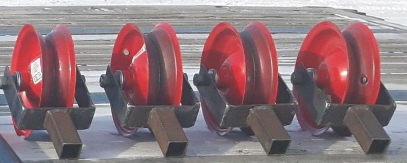 4 X Feed Over Rollers