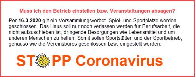 Stopp Coronavirus