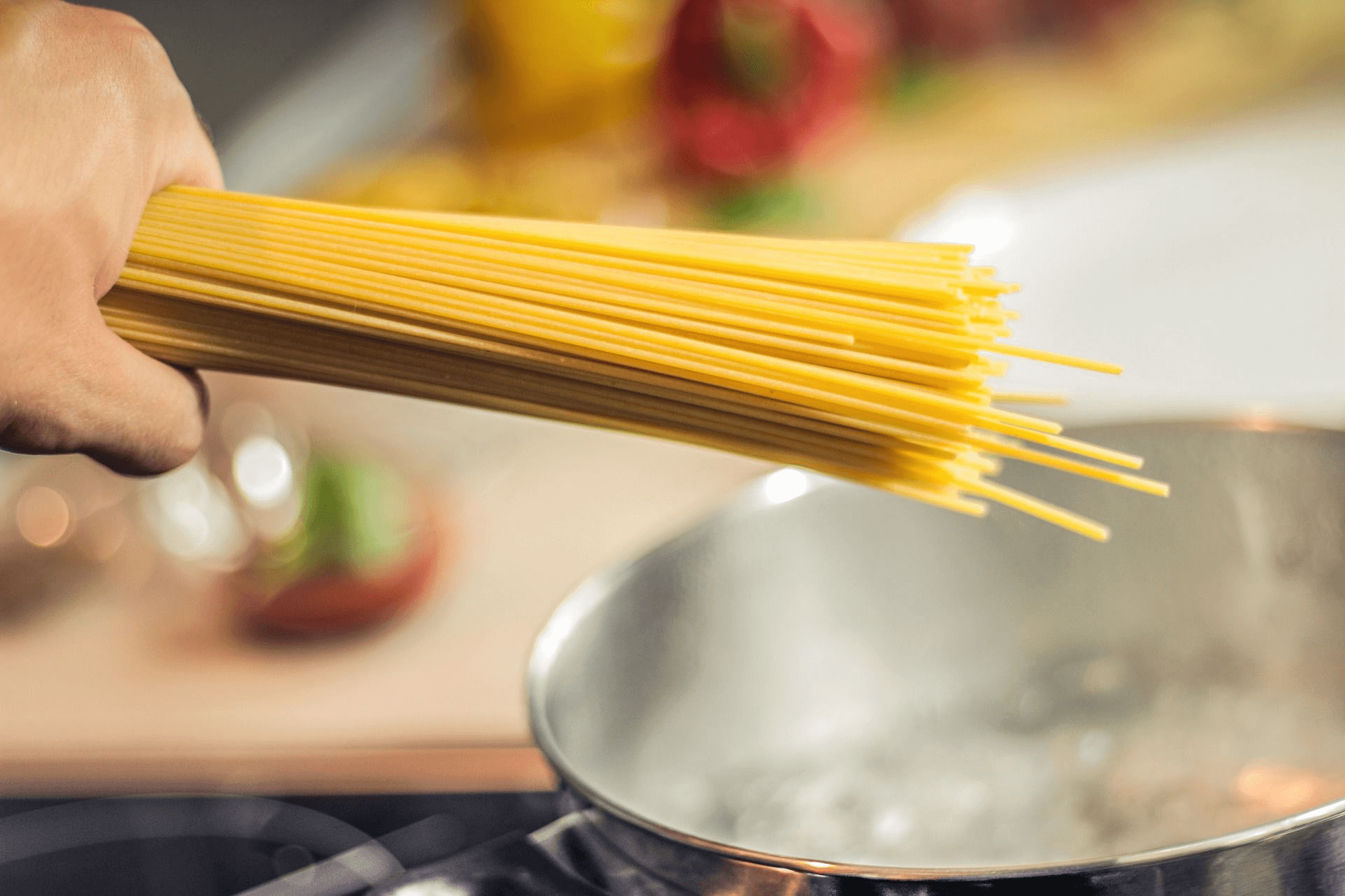 Boiling Spaghetti Noodles