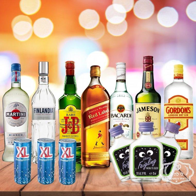 חבילת אלכוהול לחתונה