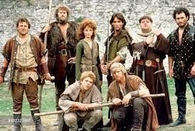 THE FIRST CAST OF 'ROBIN OF SHERWOOD'