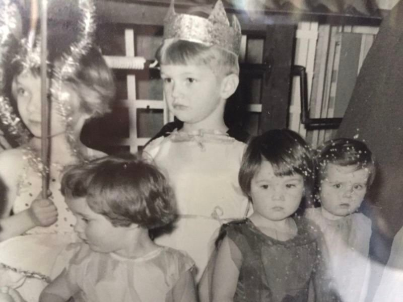 MY FIRST PUBLIC APPEARANCE AS 'KING OF THE FAIRIES'