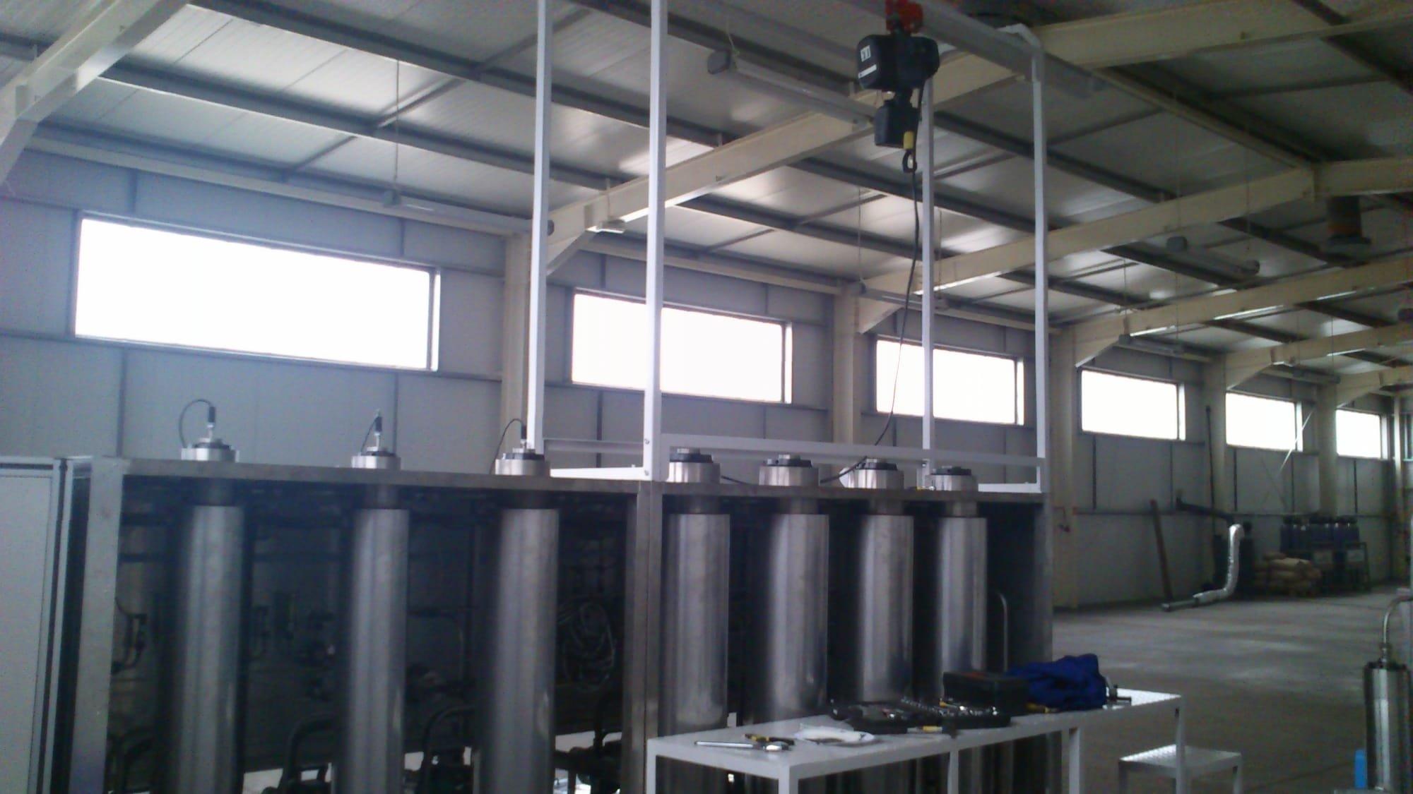 Supercritical extractors and separators