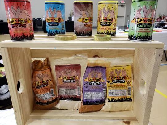 Clap-N-Praise seasoning comes in 12 flavor options, including four no-salt varieties