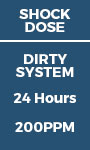 Shock Dose - Dirty System 24 hours - 200ppm