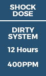 Shock Dose - Dirty System 12 hours - 400ppm
