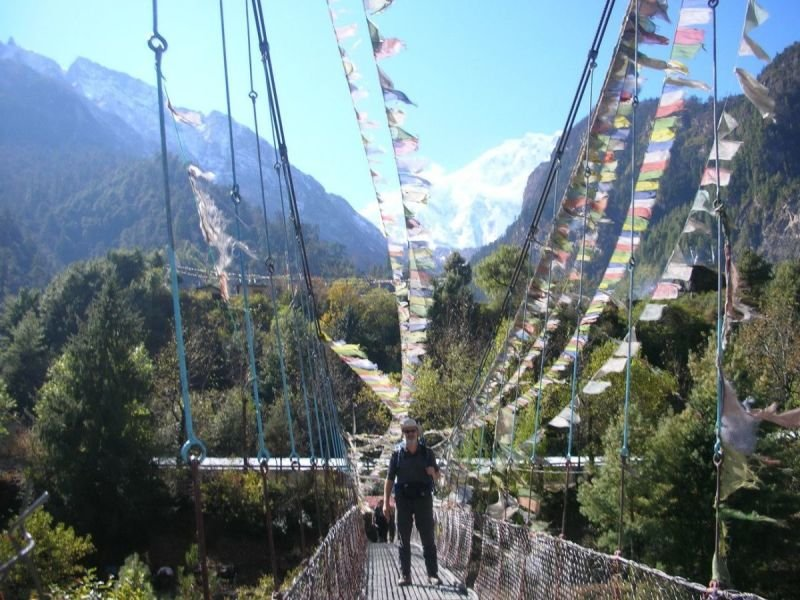 ON THE ANNAPURNA TRAIL