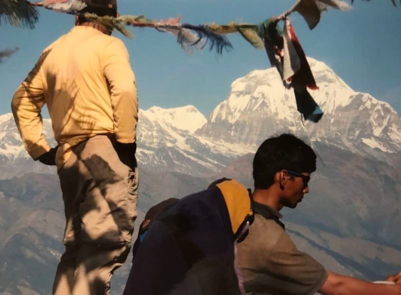 RINZIN SHERPA AND MINGMA.