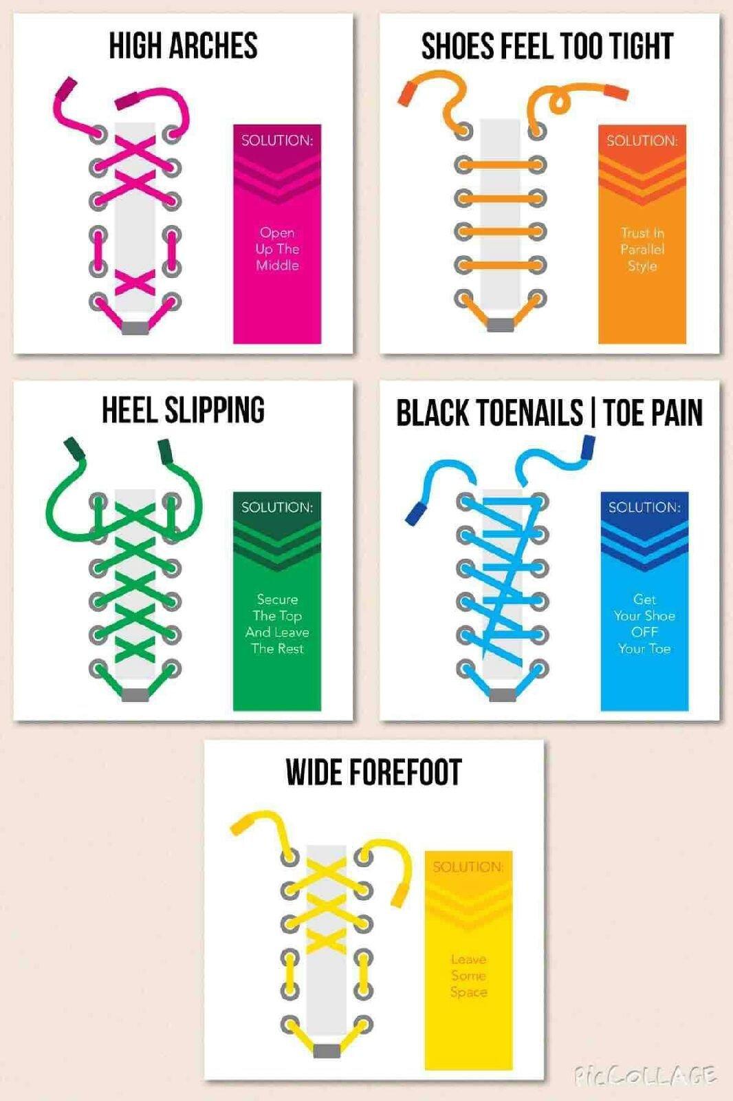 Shoe Lacing Techniques - We Walk This City