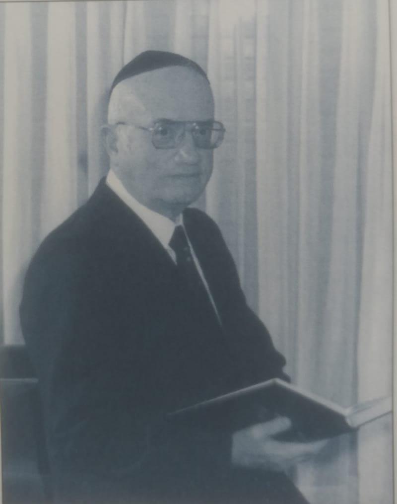 הרב יצחק שחיבר