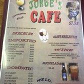 Photo of Jorge's Cafe - Ruidoso Downs, NM, United States. Breakfast Menu
