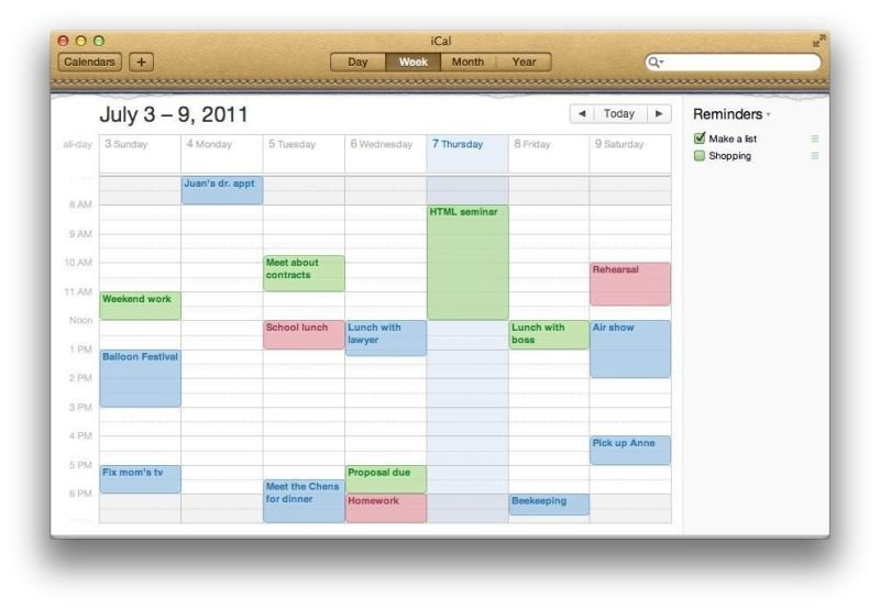 Sync Mobile Calendars