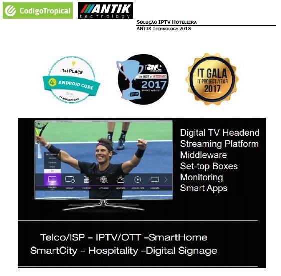 IP TV - Soluções Empresariais para Hotelaria, saúde e edificios públicos