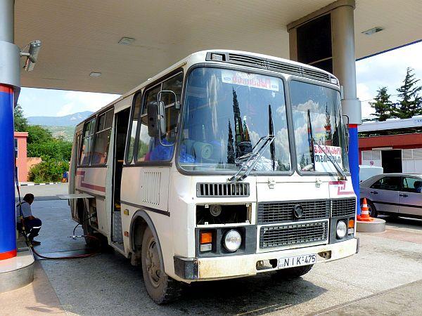 Georgian bus