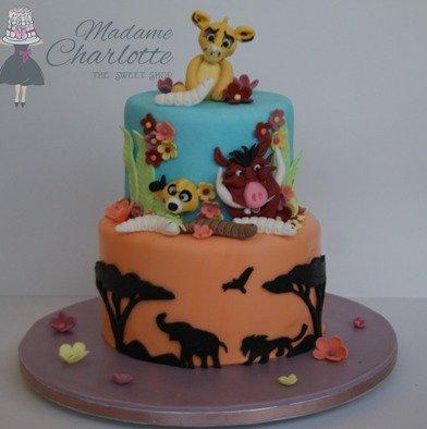 τουρτα γενεθλίων με ζαχαροπαστα lion king ζαχαροπλαστείο καλαμάτα madamecharlotte.gr, birthday theme party cakes 2d 3d confectionery patisserie kalamata