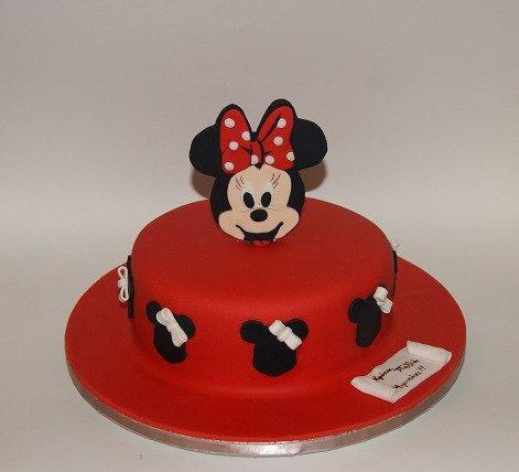 τούρτα από ζαχαροπαστα minnie mouse, Ζαχαροπλαστείο καλαμάτα madamecharlotte.gr, birthday party cakes 2d 3d confectionery patisserie kalamata