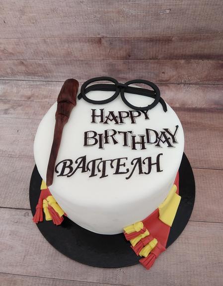 τούρτα από ζαχαρόπαστα harry potter Ζαχαροπλαστείο καλαμάτα madamecharlotte.gr, party birthday cakes 2d 3d confectionery patisserie kalamata