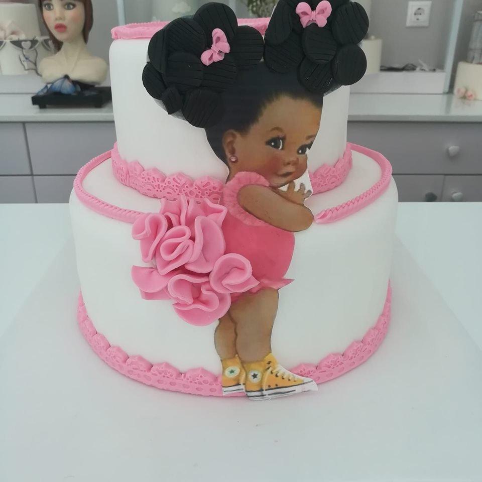 τούρτα από ζαχαρόπαστα girly cake pink dress κορίτσι με ροζ φόρεμα, Ζαχαροπλαστείο καλαμάτα madame charlotte, τούρτες γεννεθλίων γάμου βάπτησης παιδικές θεματικές birthday theme party cake 2d 3d confectionery patisserie kalamata