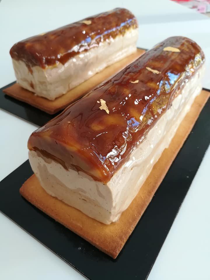 κορμός κρέμα μπαχαρικών-καραμελωμένο μήλο, Ζαχαροπλαστείο κοντά μου στη καλαμάτα madame charlotte, σοκολατάκια πάστες γλυκά τούρτες γεννεθλίων γάμου βάπτισης παιδικές θεματικές birthday theme party cake 2d 3d confectionery patisserie kalamata