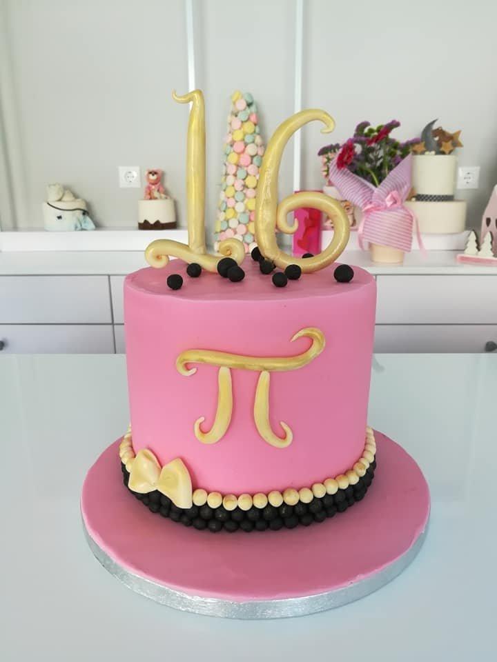 τούρτα από ζαχαρόπαστα sweet 16, Ζαχαροπλαστείο καλαμάτα madame charlotte, τουρτες παρτι παιδικες γενεθλίων για αγόρια για κορίτσια για μεγάλους madamecharlotte.gr birthday theme cakes patisserie confectionery kalamata