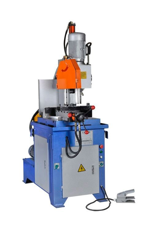 hydraulic semiautomatic pipe cutting machine