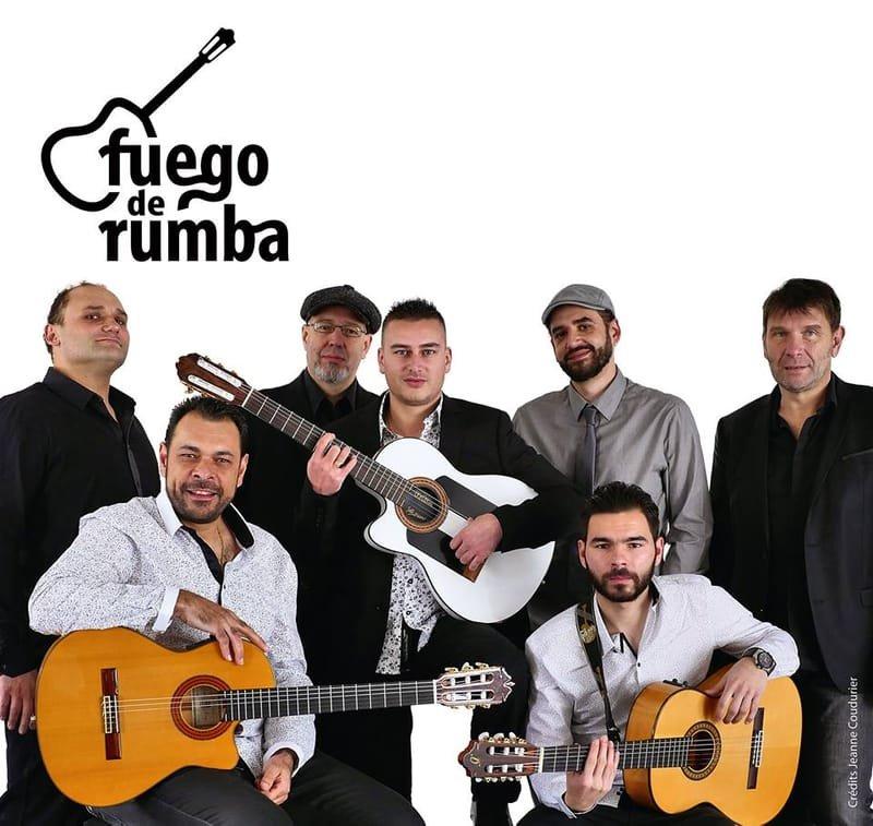 FUEGO DE RUMBA du trio au septet , Plus de 20 ans de fusion gipsy, rumba et world music…