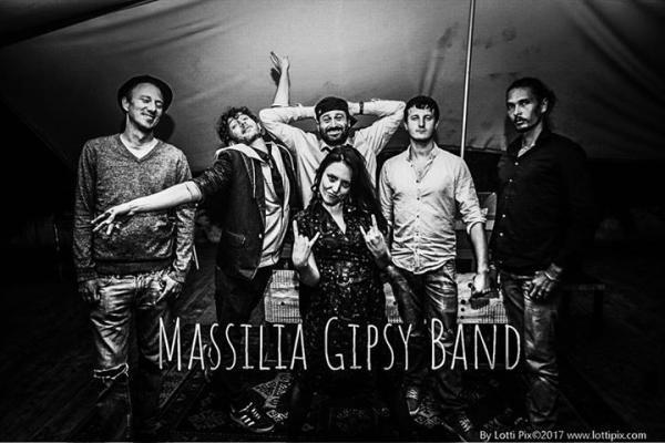 MASSILIA GIPSY BAND sextet, musique Klezmer, tzigane