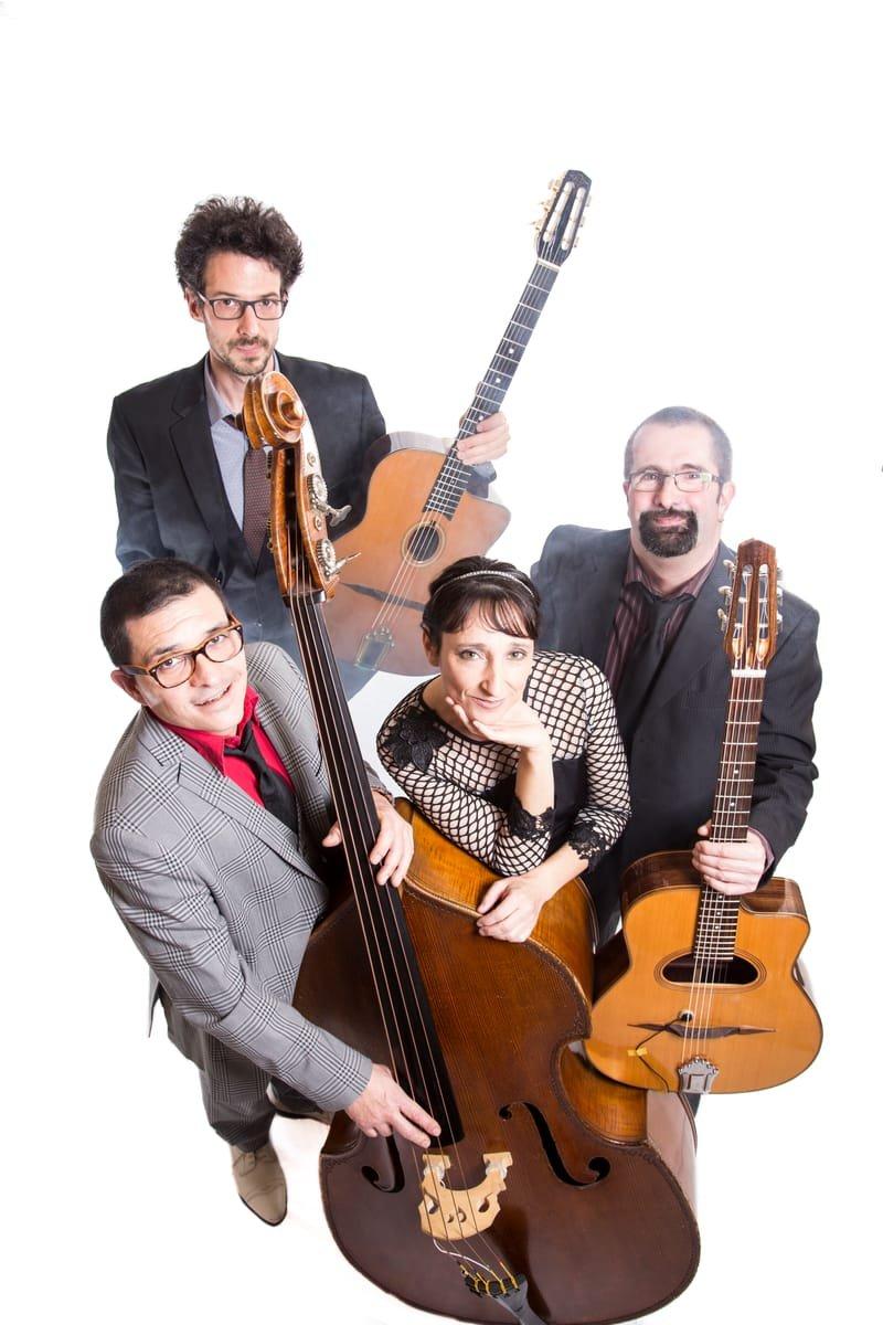 GILI SWING quartet, jazz manoucghe et americain