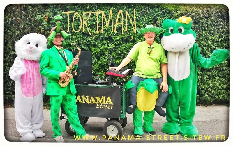 les TORTMAN DUO,  Deux tortues swing  délirantes