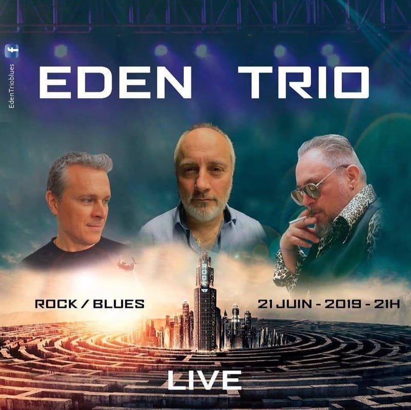 EDEN TRIO BLUES , rock, blues