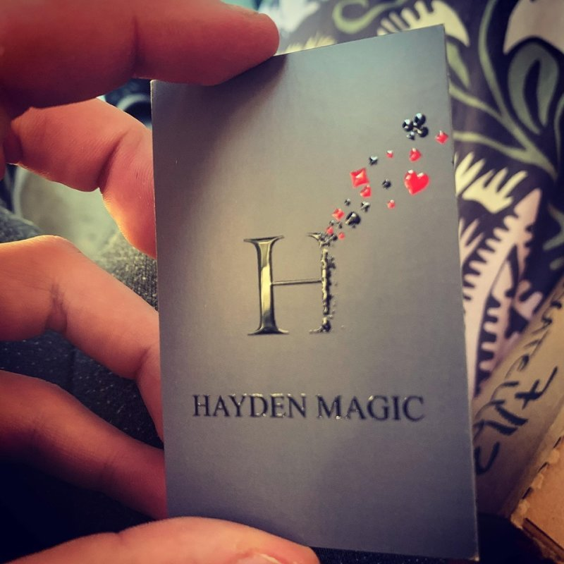 HAYDEN MAGIC