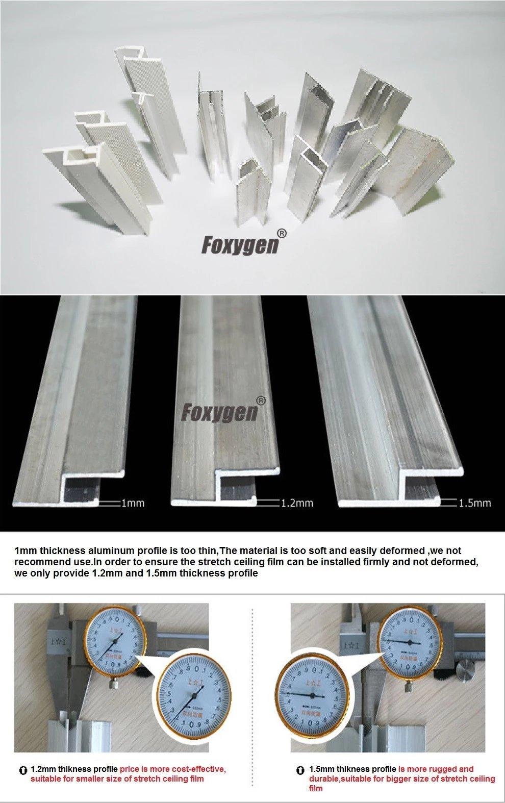 stretch ceiling installation tools pvc stretch ceiling film spatula profile