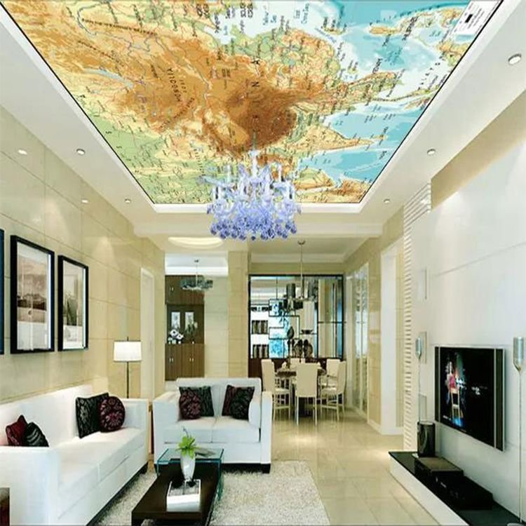 Removable good quality pop designs in hall cheap price 3D ...
