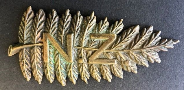 New Zealand Other Ranks' Headdress Badge - Copy & Officer's Collar Badge