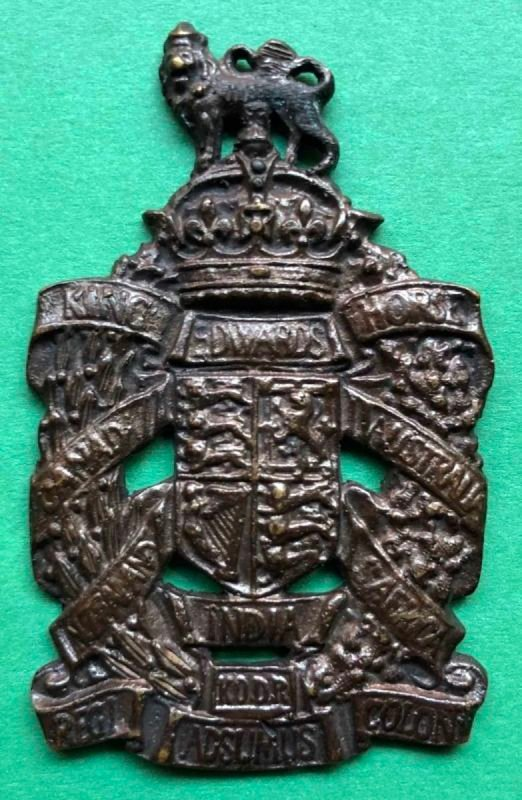 First Pattern Officer's Headdress Badge