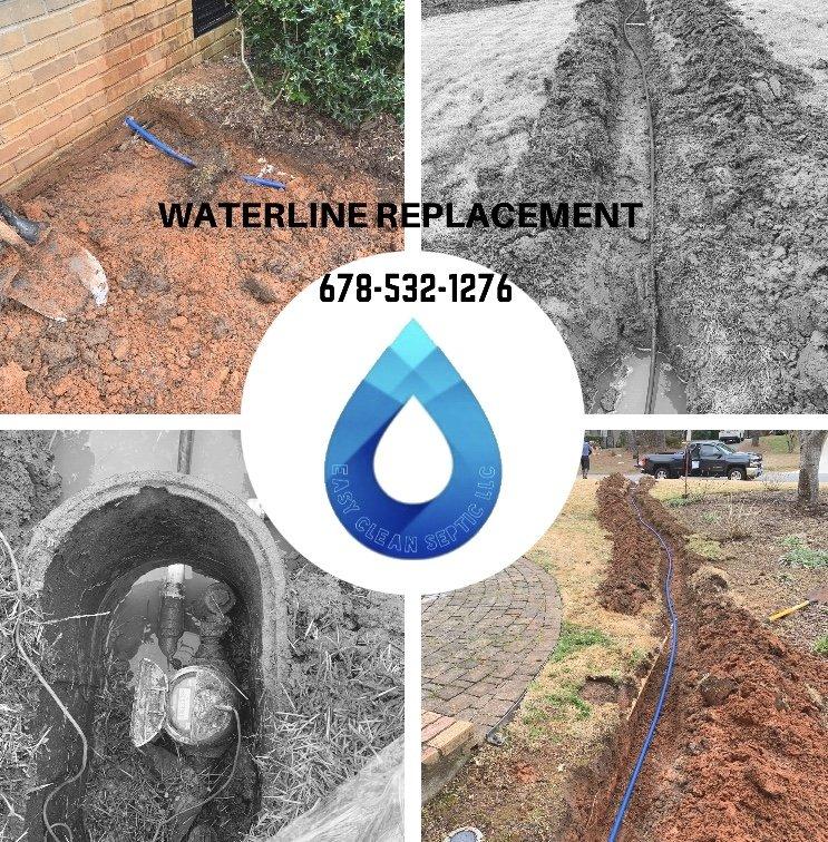 Main waterline replacement and repair