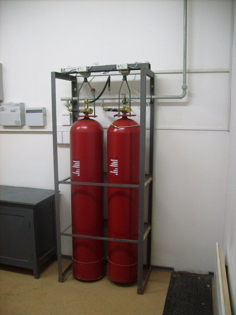 Gas Fire Extinguishing Modules (MGP)