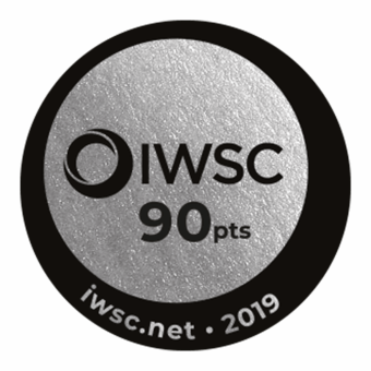 IWSC 2019 : CATEGORY GIN Silver Medal