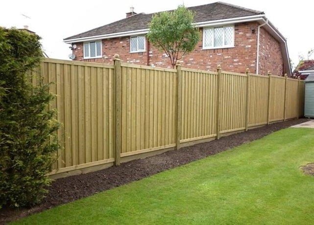Garden Fencing Homeland Interior And Landscape