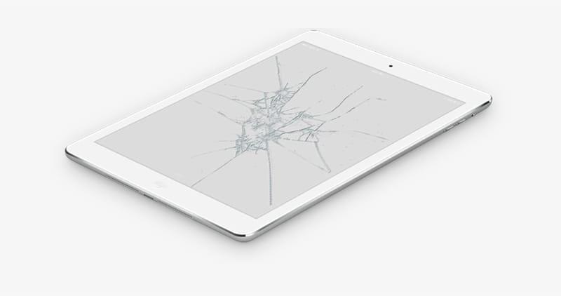 Priser på reparasjon av iPad-modeller