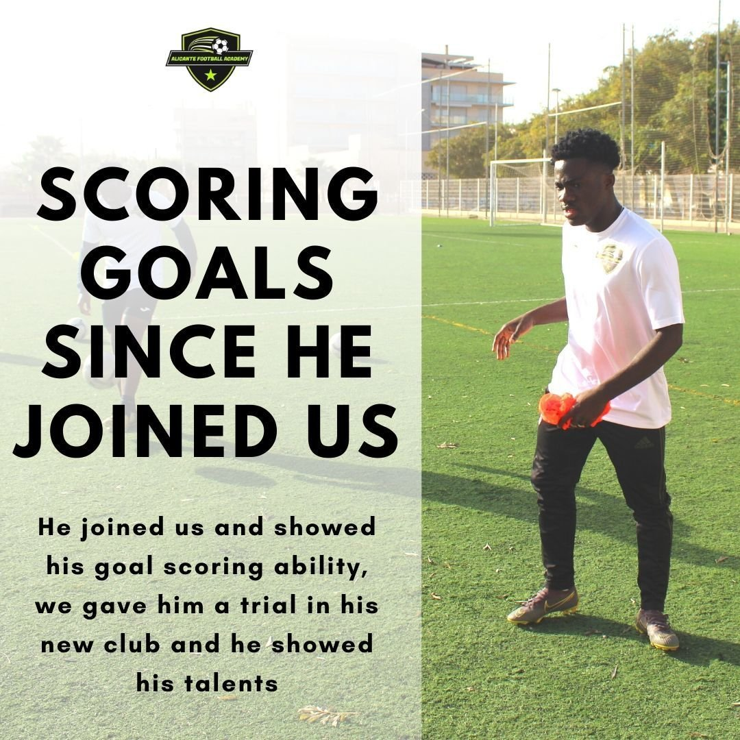 alicante football academy player training