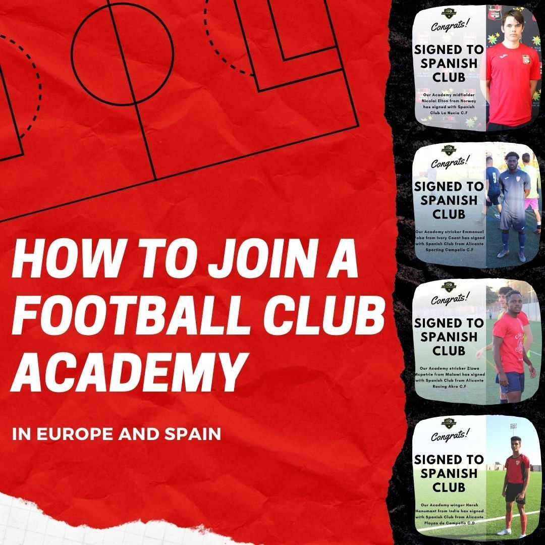 How to join a football club with success stories