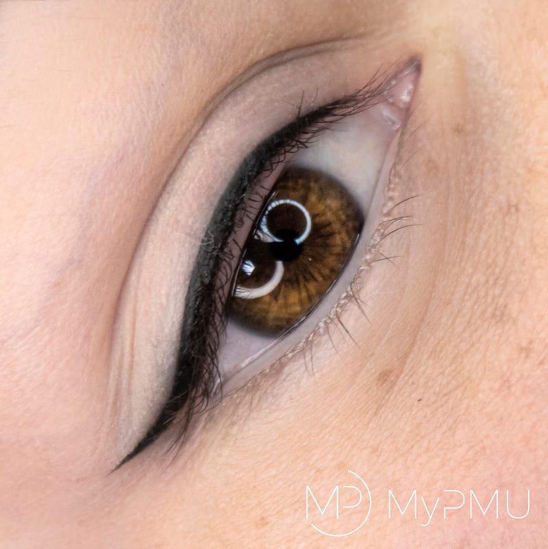 Permanent Make up Lidstrich