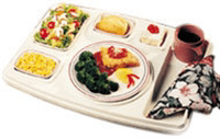 Heated or insulated trays