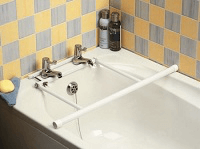 Image of a tap-fixed bath rail
