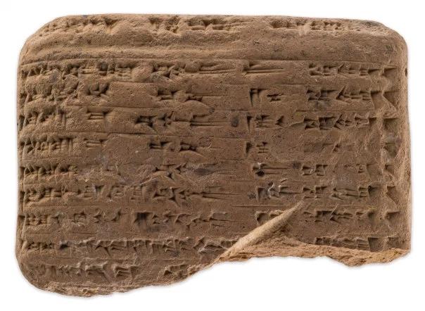 למעלה: לוח מאל יהודו עם פירוט תשלומי האומדן. השורות שבו יוצרות טבלה מתוך אוסף סינדי ודוד סופר, באדיבות מוזאון ארצות המקרא, צילום: ארדון בר חמא