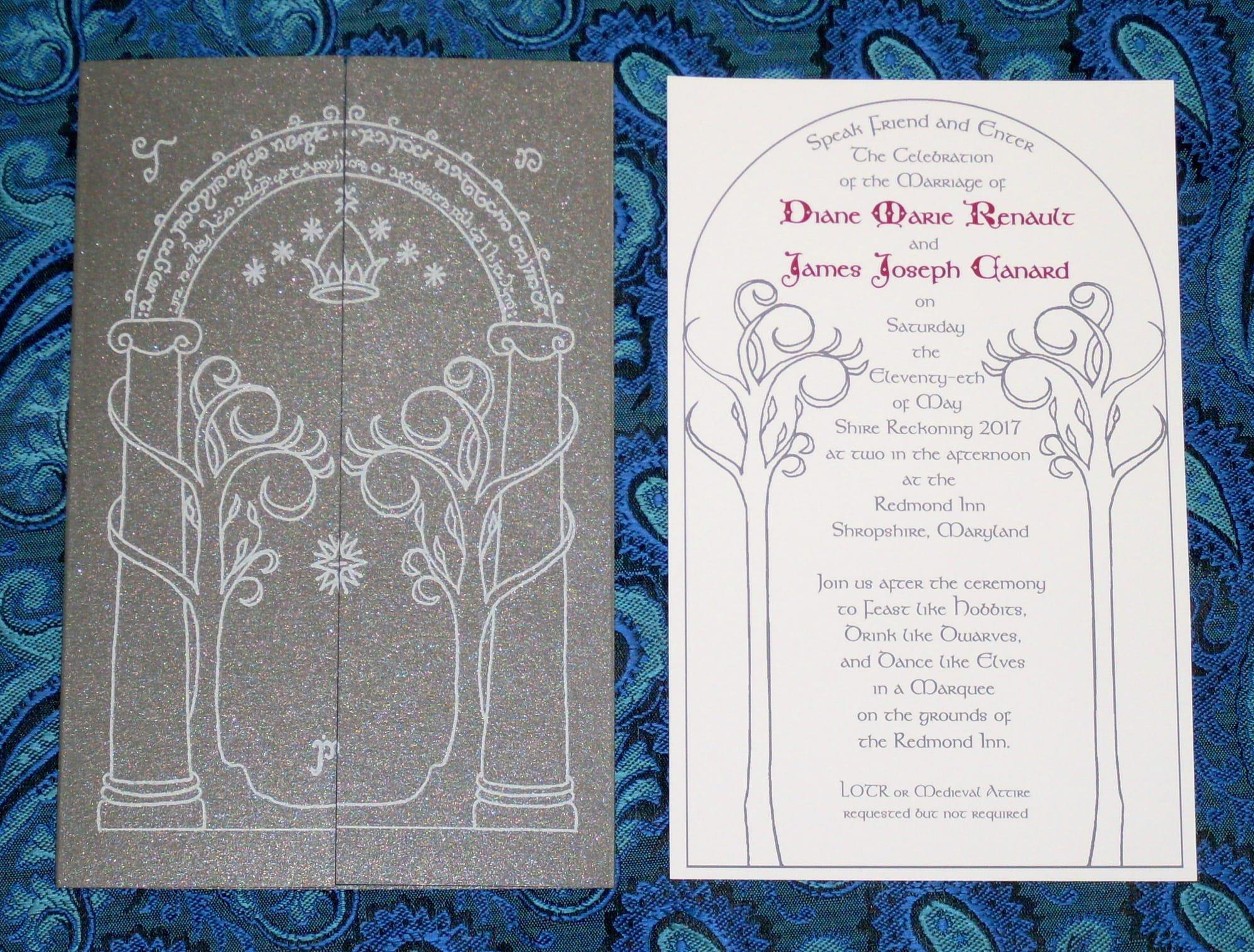 Alternative Wedding Invitations For The