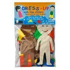 Foam dress up dolls