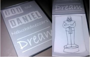 Daniel and the King's Dream Matchbox Craft