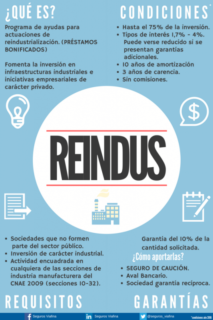 SUBVENCION REINDUS 2020